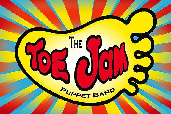 Toe Jam Puppet Band at the Ipswich Library!