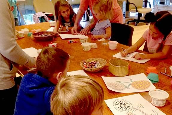 Kids will learn to make an Olympic themed craft at the TOHP Burnham Public Library!
