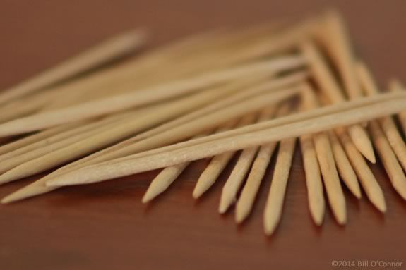 Using toothpicks, kids wil learn about structures and their limits at Maritime G