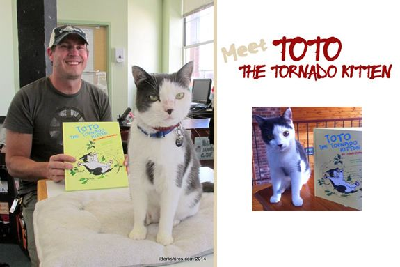 Hamilton Wenham Public Library Meet the Author of Toto the Tornado Kitten