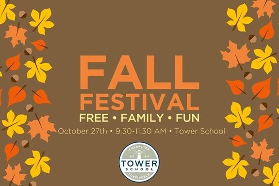 Fall Festival and Open House at Tower School in Marblehead MA