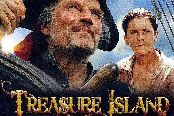 Enjoy a FREE showing of Treasure Island at Waterfront Park in Newburyport