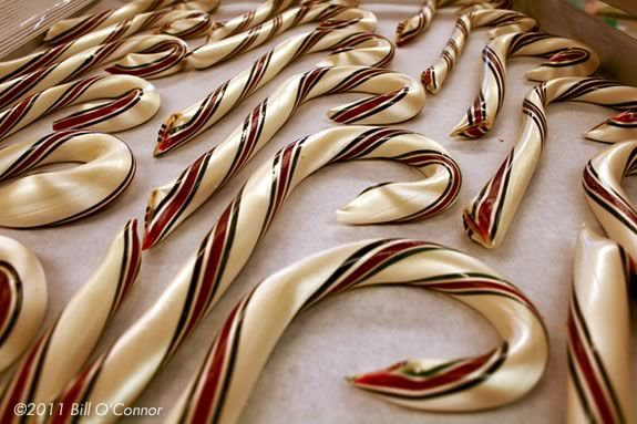 Come to Tuck's Candy in Rockport and see how they make candy canes by hand!