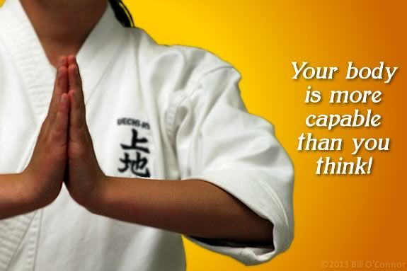 Adult Introduction to Uechi Ryu Karate at Gloucester Karate Academy