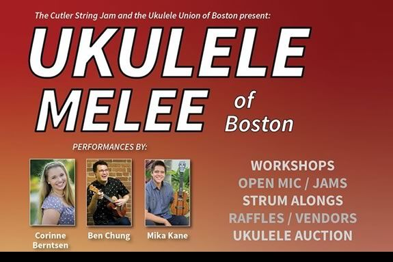 Learn and improve ukulele skills at the Ukulele Melee at the Cutler School in Hamilton!
