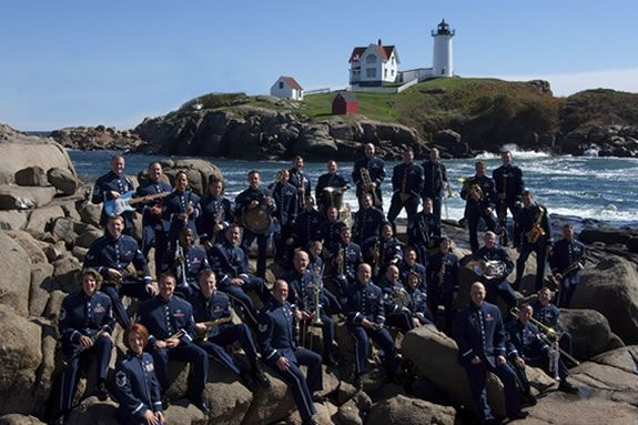 The USAF Band of Liberty will be the final concert of the Yankee Homecoming