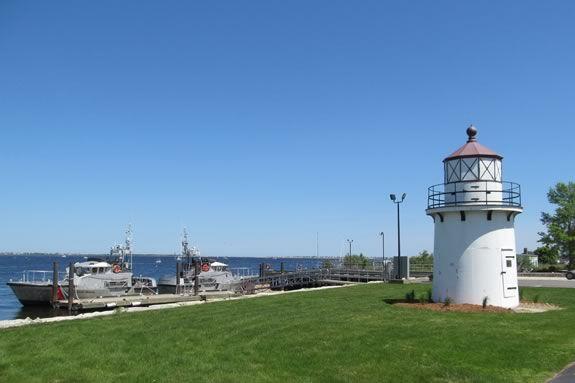 Tour the Newburyport Coast Guard station as part of Yankee Homecoming