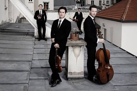 The Van Kuijk Quartet will be performing at the Shalin Liu performing arts center in Rockport MA