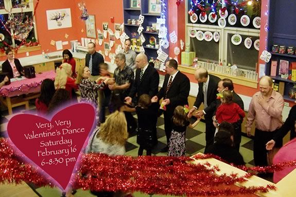 The Valentines Dance for kids at the Children's Museum of NH is not just a dance