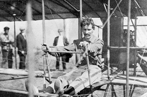 W. Starling Burgess developed his piloting skills out of Plum Island Aerodrome