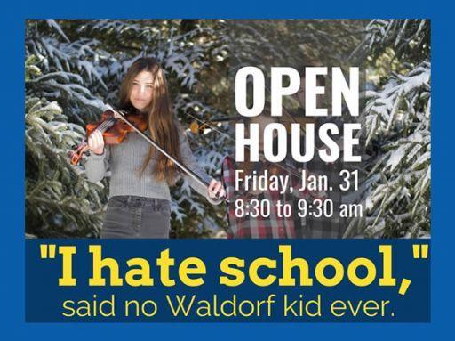 Waldorf School at Moraine Farm Grades 1-8 Open House