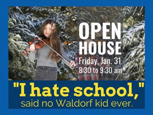 Waldorf School at Moraine Farm Grades 1-8 Open House