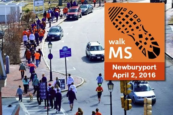 Ending multiple sclerosis for good will take all of us. Walk in Newburyport to help a good cause!