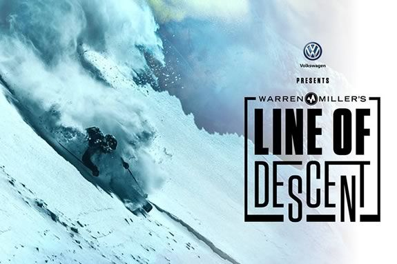 "Warren Miller's ""Line of Descent"" at the cabot in Beverly Massachusetts"