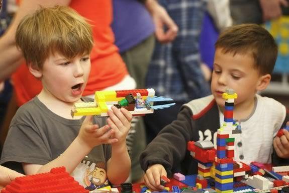 Drop in at LEGOpalooza at Wenham Museum in Wenham Massachusetts