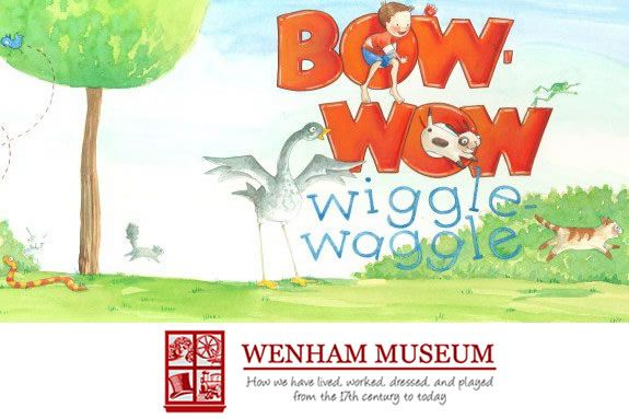 children's' author & illustrator Mary Newall DePalma book, Bow-Wow Wiggle-Waggle