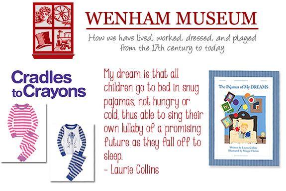 """Wenham Museum, """"Pajamas of My Dreams"""" Pajama Storytime and Pajama Drive at Wenha"""