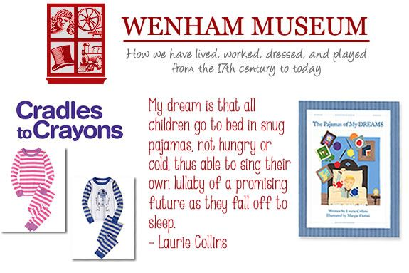 "Wenham Museum, ""Pajamas of My Dreams"" Pajama Storytime and Pajama Drive at Wenha"
