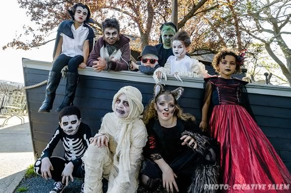 Wicked Wednesdays at the House of Seven Gables in Salem MA. Photo: Creative Salem