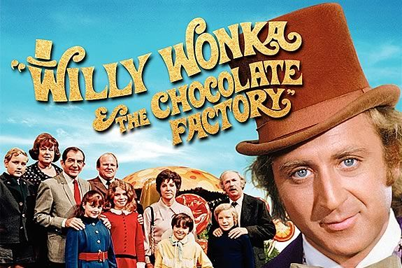 Come watch a FREE showing of Willy Wonka and the Chocolate Factory on the waterf