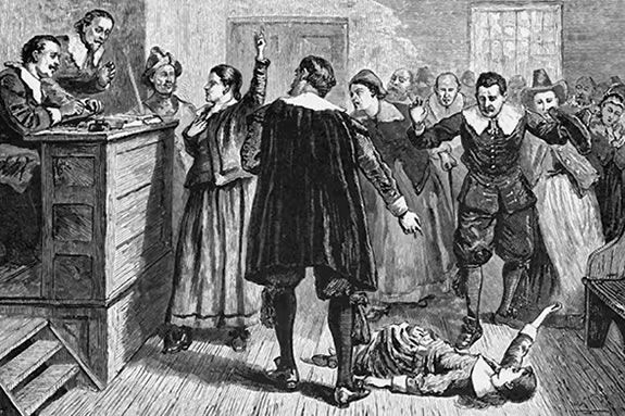 The Salem Witch Hysteria