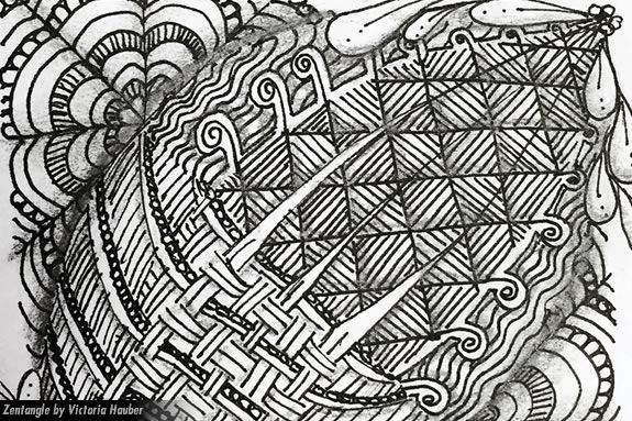 Kids in grades 6-12 will make their own zentangle masterpieces at the Newburyport Public Library