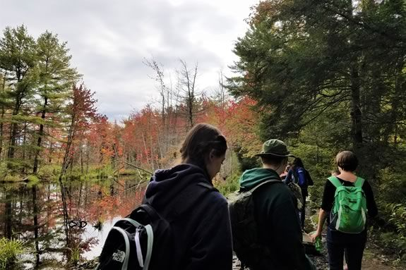 Teens will learn about Natural History, Ecology and Conservation at Ipswich River Wildlife Sanctuary.