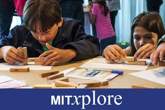 kids will learn about math in a different light at MITxplore programs.