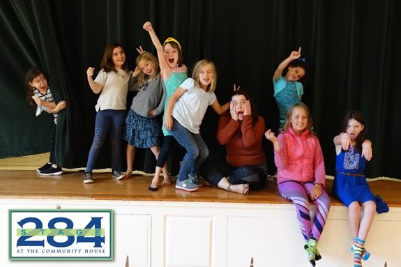 Some of the kids that performed in Stage 284's Theater Workshop For Kids production of Madeline!