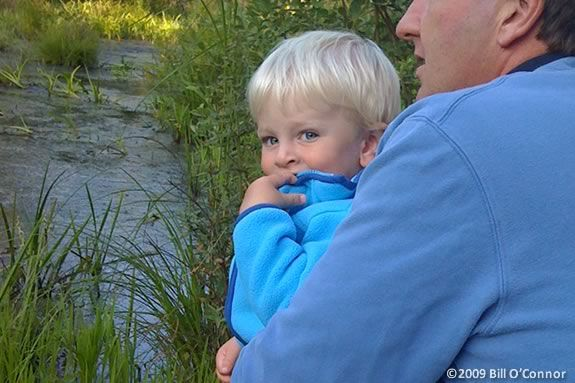 Toodlers will learn about the delights of late autumn at Ipswich River Wildlife Sanctuary in Topsfield, Massachusetts