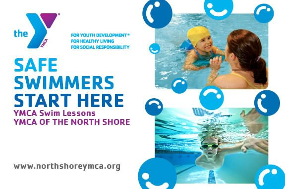 Parent/child swim lessons are available at all YMCA of the North Shore locations