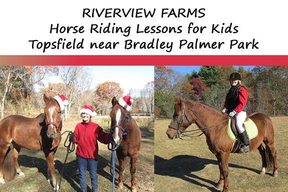 Horse Riding Lessons for Children in Topsfield Massachusetts