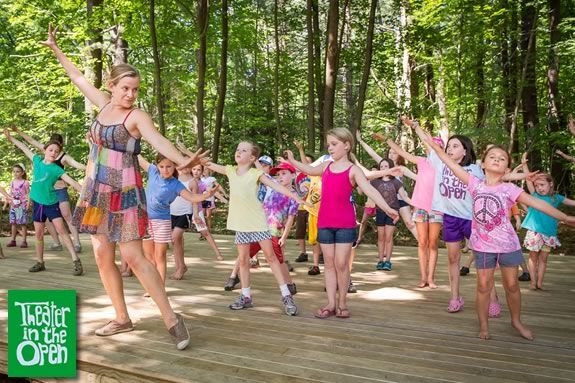 Theater in the Open Summer Workshops at Maudslay State Park in Newburyport