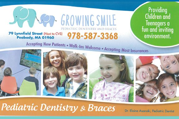 Peabody Pediatric Dental Office, Pediatric Dentistry, Braces, and Special Needs Dentistry