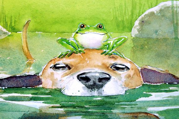 City Dog and Country Frog create a great seasonal freindship in this book!
