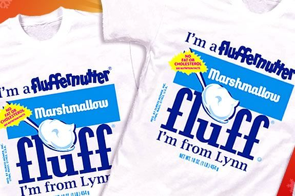 Fluffernutter t-shirts make great gifts for those fol\ks who are nuts for fluff!