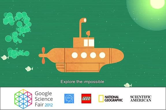 Kids are invited to enter the 2012 Google Science Fair - the worlds largest!