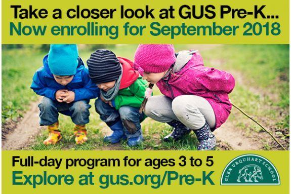 Glen Urquhart School Pre-K Program - Beverly MA