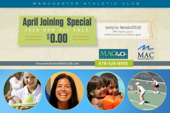 Manchester Athletic Club  April Membership Special - join the MAC for FREE