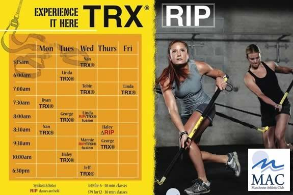 TRX RIP Training Program at Manchester Athletic Club