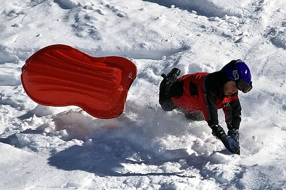 Sled Safety reduces the risk of injury and allows everybody to make it home safe