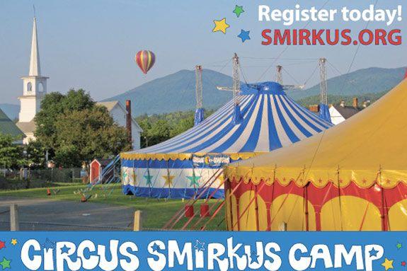 Circus Smirkus Camp Summer Program 2012