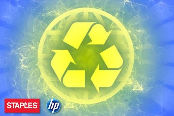 Do right by the planet and recycle your electronics at STAPLES!