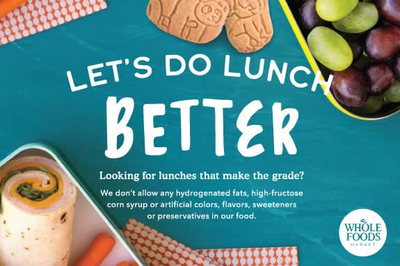 Whole Foods Market has the best lunch box foods for Lynnfield, Andover, Swampscott children and families