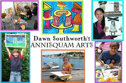 Summer Art and Photography Program for Kids on Cape Ann, Annisquam Arts, Glouces