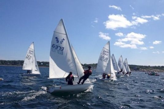 Sandy Bay Juniro Sailing Program in Rockport Massachusetts