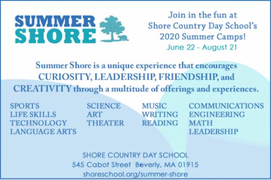 Shore Country Day School Summer Programs