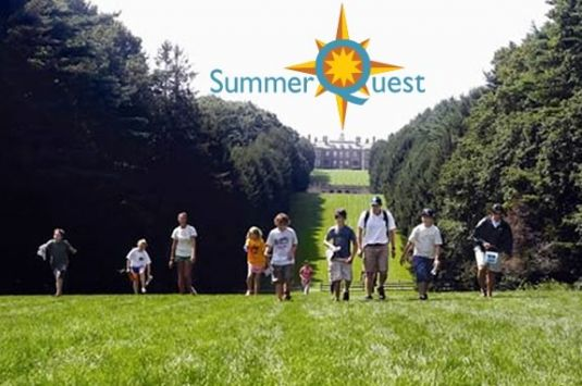 SummerQuest at the Trustees of Reservations' Crane Estate in Ipswich Massachusetts!