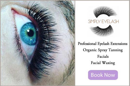 Professional Eyelash Extensions, Waxing, Organic, Natural Spray Tanning, Salon Services