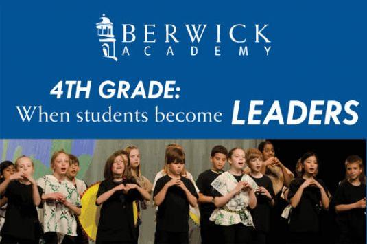 Berwick Academy Open House 4th Grade